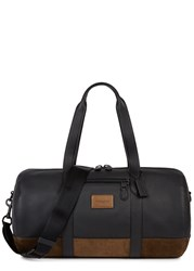 Coach Metropolitan Leather And Suede Holdall Black