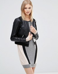 Y.A.S Joanna Leather Jacket Ta Brown