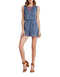 Bcbgeneration Patterned Romper Vintage Combo