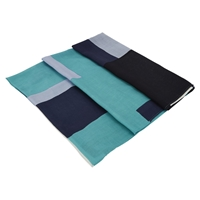 Viyella Colour Block Scarf Jade