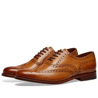 Grenson Dylan Brogue Brown