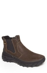 Rockport Cold Springs Plus Chelsea Boot Dark Brown Leather