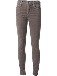 Citizens Of Humanity Skinny Corduroy Trousers Grey