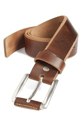 Men's Remo Tulliani 'Coraggio' Leather Belt Honey