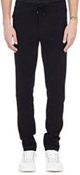 Dolce And Gabbana Tech Jersey Ski Pants Black