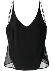 J Brand Lucy Sheer Panel Camisole 60