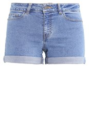 Noisy May Nmbe Lucy Denim Shorts Medium Blue Denim