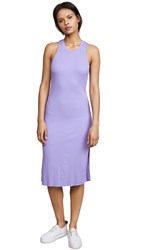 Cotton Citizen The Melbourne Tank Dress Pastel Purple