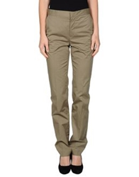 Jean Paul Gaultier Femme Casual Pants Military Green