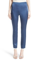 St. John Women's Collection Emma Luxe Satin Crepe Pants