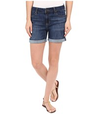 Liverpool Vickie Shorts In Montauk Mid Blue Montauk Mid Blue Women's Shorts
