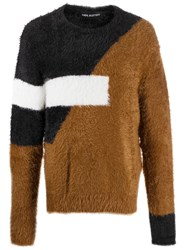 Neil Barrett Textured Colour Block Jumper 60