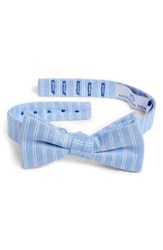 Southern Tide Atlantic Horizontal Cotton And Silk Bow Tie