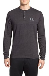 Men's Under Armour 'Sportstyle' Long Sleeve Charged Cotton Henley
