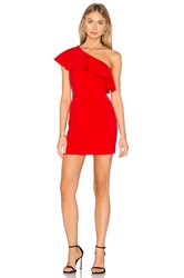 Amanda Uprichard Meringue Dress Red