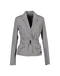 313 Tre Uno Tre Suits And Jackets Blazers Women Grey