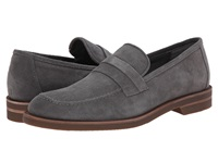 Calvin Klein Yurik Pewter High Suede Men's Dress Flat Shoes Gray