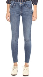 Mother The Looker Ankle Fray Jeans Girl Crush