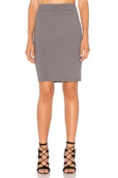 Susana Monaco Pencil Skirt Gray