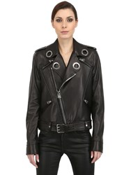 Tom Ford Soft Nappa Leather Biker Jacket Black