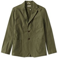 The Hill Side Tailored Jacket Green