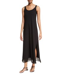 Tommy Bahama Scoop Neck Long Coverup Dress Black