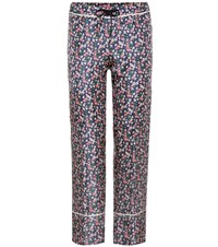 Moncler Silk Trousers Multicoloured