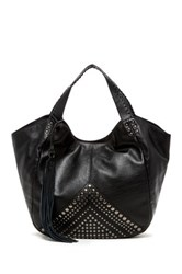 Isabella Fiore Bellmore Leather Tote Black