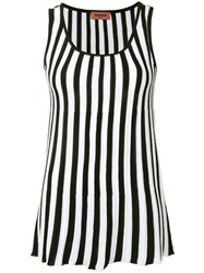 Missoni Striped Tank Top Black