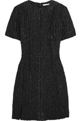 Carven Matelasse Mini Dress Black