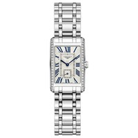 Longines L52550716 Women's Dolce Vita Diamond Bracelet Strap Watch Silver