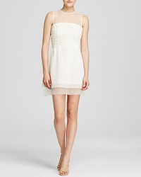 French Connection Dress Glacier Wave Summer White