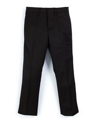 Burberry Brit Wool Slim Fit Tuxedo Pants Black Size 4 14