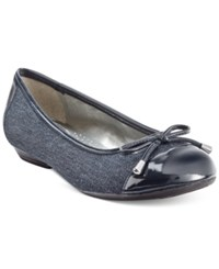 Karen Scott Rylee Flats Only At Macy's Women's Shoes Denim