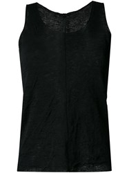 Forme D'expression 'Double Knit' Tank Top Black