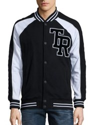 True Religion Active Collegiate Jacket Black