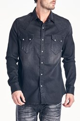 Cult Of Individuality Clint Western Shirt Black