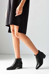 Grey City Winona Zipper Ankle Boot Black