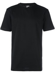 Hood By Air Cut Out Detail T Shirt Black