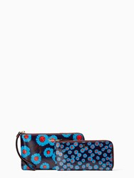 Kate Spade Cameron Street Tangier Floral Alfre Peacock Blue