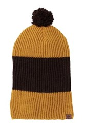 Timberland Heathered Colorblock Slouchy Beanie Beige