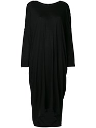 Unconditional Long Sleeved Tail Dress Black