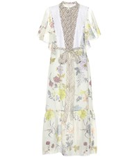 See By Chloe Floral Printed Midi Dress Multicoloured