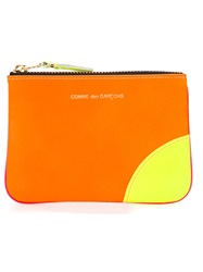 Comme Des Garcons Wallet 'New Super Fluo' Purse Pink And Purple