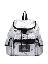 Marc Jacobs The Ripstop Ny Backpack Silver