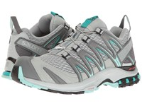 Salomon Xa Pro 3D Quarry Pearl Blue Aruba Blue Women's Running Shoes Beige