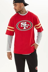 Forever 21 Nfl San Francisco 49Ers Tee Red White