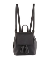 French Connection Vale Mini Faux Leather Backpack Black