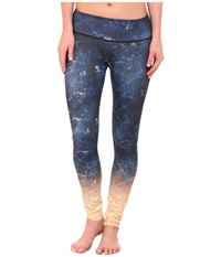 Onzie Time Travel Graphic Leggings Time Travel Women's Casual Pants Black