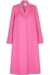 Carolina Herrera Oversized Wool And Cashmere Blend Felt Coat Pink